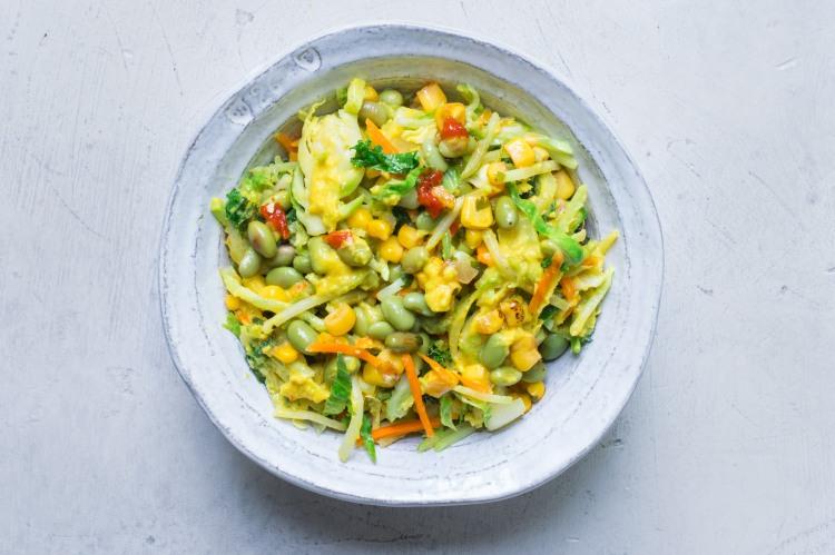 Bangkok Curry Salad Bowl Hover Shot (1 of 1)