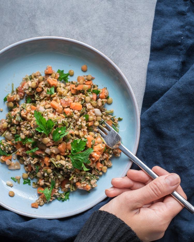 Organic - Crunchy Carrot Lentil Salad2